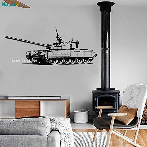 cooldeerydm Mechanische muur Vinyl Zware Tank Militaire oorlog Garantie Kwaliteit Decal Art Mural Art zelfklevend Papier Gift