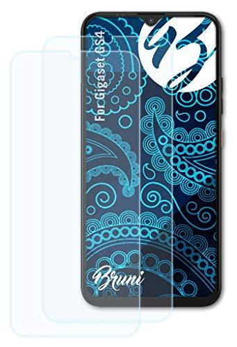 Bruni Schutzfolie kompatibel mit Gigaset GS4 Folie, glasklare Bildschirmschutzfolie (2X)