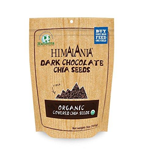 Organic Dark Chocolate-Covered Chia Seeds