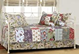 Greenland Home Blooming Prairie Authentic Patchwork 5-Piece Daybed Set