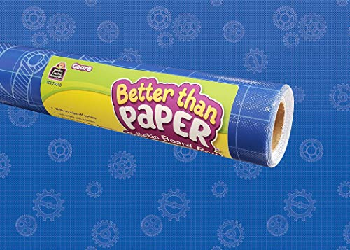 Teacher Created Resources Gears Better Than Paper Bulletin Board Roll, Model: TCR77040
