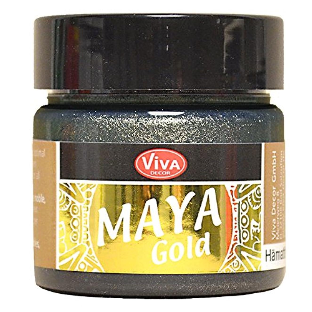 Viva Decor Haematite Maya Gold Paint, Acrylic, Grey, Medium