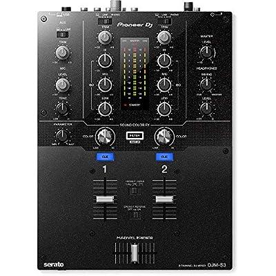 Pioneer DJ DJM-S3 2 Channel Mixer for Serato DJ from Pioneer Pro DJ