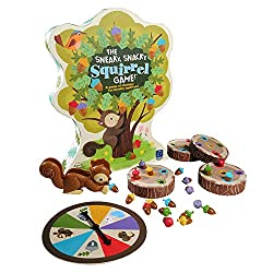 The sneaky snacky Squirrel board game.