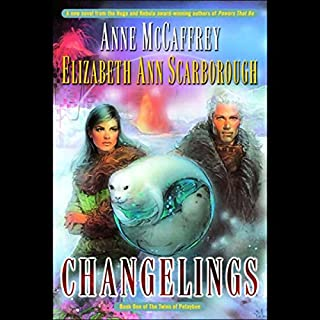 Changelings     Twins of Petaybee, Book 1              Written by:                                                                                                                                 Anne McCaffrey,                                                                                        Elizabeth Ann Scarborough                               Narrated by:                                                                                                                                 Robert Ramirez                      Length: 8 hrs and 43 mins     Not rated yet     Overall 0.0