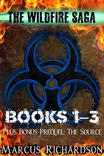 1,405 pages of pandemic-induced, post-apocalyptic mayhem in this 4-in-1 BOXED SET ALERT!<br><em>The Wildfire Saga: Books 1, 2, & 3 and The Source: A Wildfire Prequel </em>by Marcus Richardson