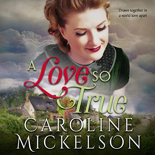 Couverture de A Love So True: A World War II Sweet Historical Romance