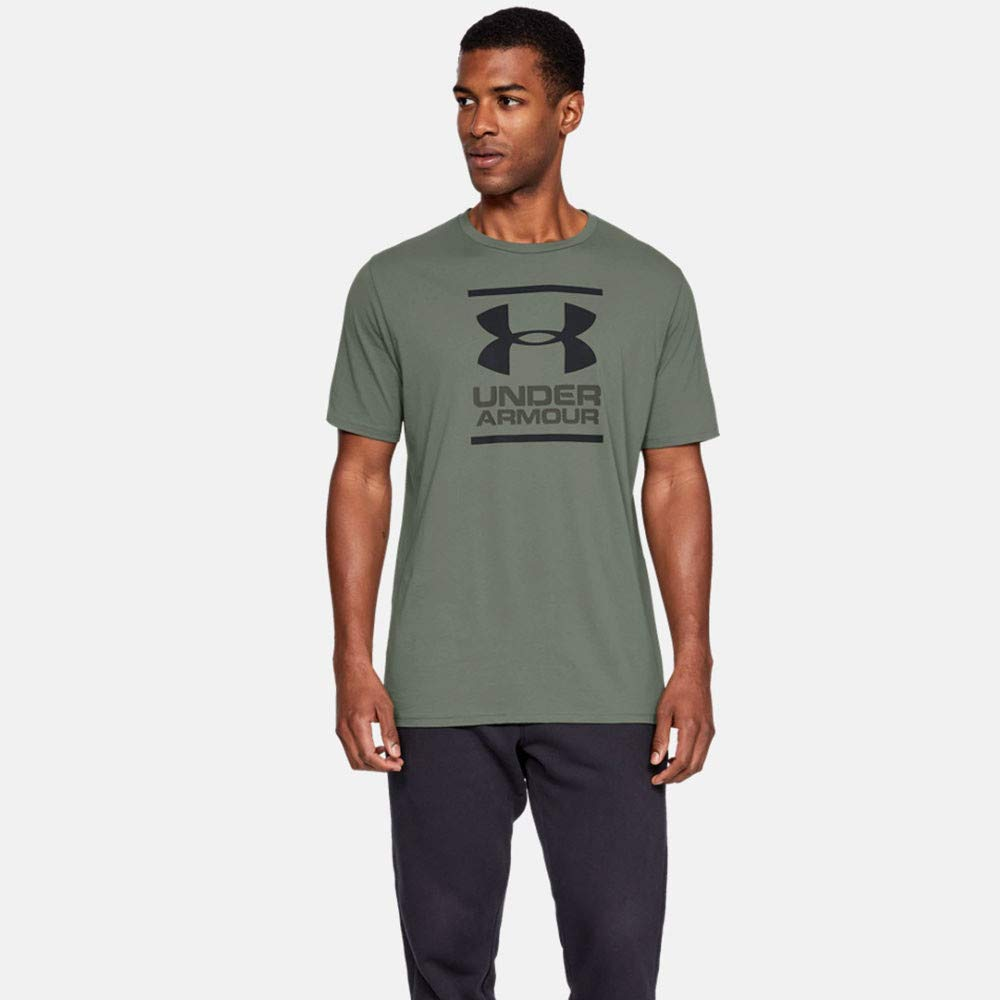 Under Armour 安德玛 男式 GL Foundation 短袖T恤 速干 带图案