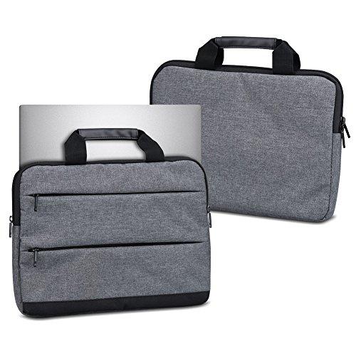 UC-Express Laptophülle Schutzhülle für Trekstor Primebook C13 Sleeve Tasche Notebooktasche Schutzcase, Farbe:dunkel Grau