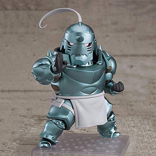 SDFDSSR Fullmetal Alchemist Alphonse Elric Movable Anime Character Versión Estatua Muñeca Escultura Juguete Decoración Modelo Figura Figura 12cm Altura