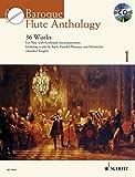 Baroque Flute Anthology - 36 Works - Schott Anthology Series - Flute - edition with CD - (ED 13611)