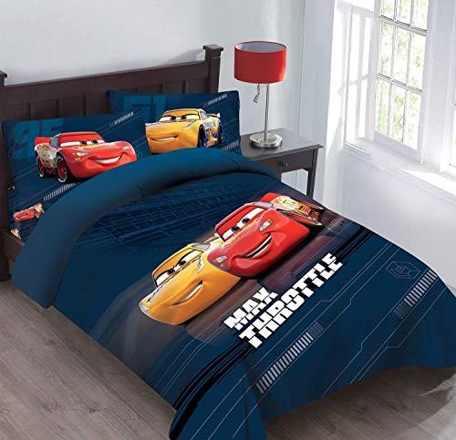 Disney 4 Pieces Cars Max Throttle Full Size Bedding Set