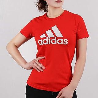 adidas 阿迪达斯女装 夏季 时尚运动休闲透气跑步健身训练舒适短袖T恤