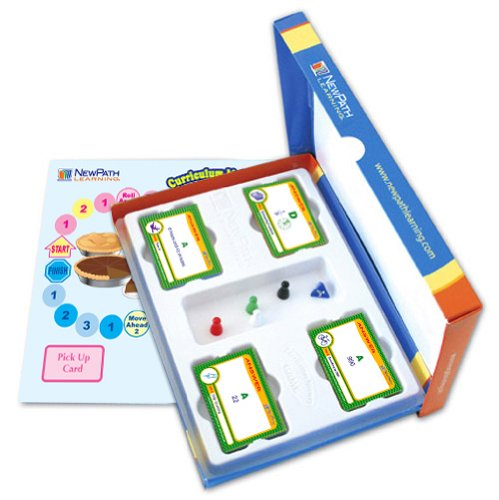 NewPath Learning Mastering Math Curriculum Mastery Game, Grade 1, Study-Group Pack