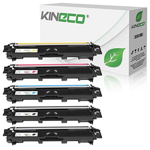Kineco 5 Toner kompatibel für Brother TN-242 TN-246 für Brother DCP-9017CDWG1 9017CDWG1...
