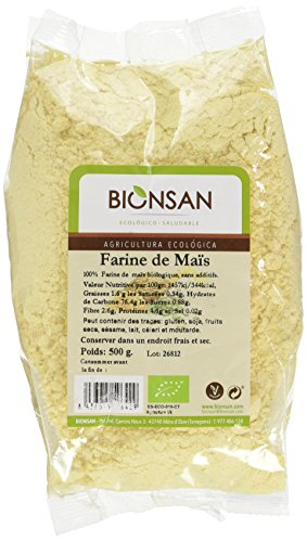 BIONSAN - BIO - Farine de Maïs 500 g - Lot de 6