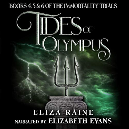 Tides of Olympus: Books Four, Five & Six audiobook cover art