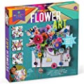 Craft-tastic - Design Your Own Flower Art Canvas - Craft Kit - Arrange Paper Flowers & Pre-Cut Designs to Create Personalized Art