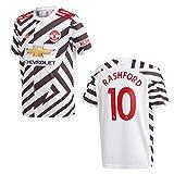 adidas Manchester United Trikot 3rd Kinder 2021 - RASHFORD 10, Größe:152