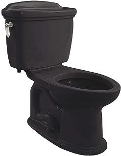 Whitney Eco 1.28 GPF Elongated 2 Piece Toilet Toilet Finish: Ebony