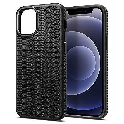 Spigen Liquid Air Armor Designed for iPhone 12 Mini Case (2020) - Matte Black