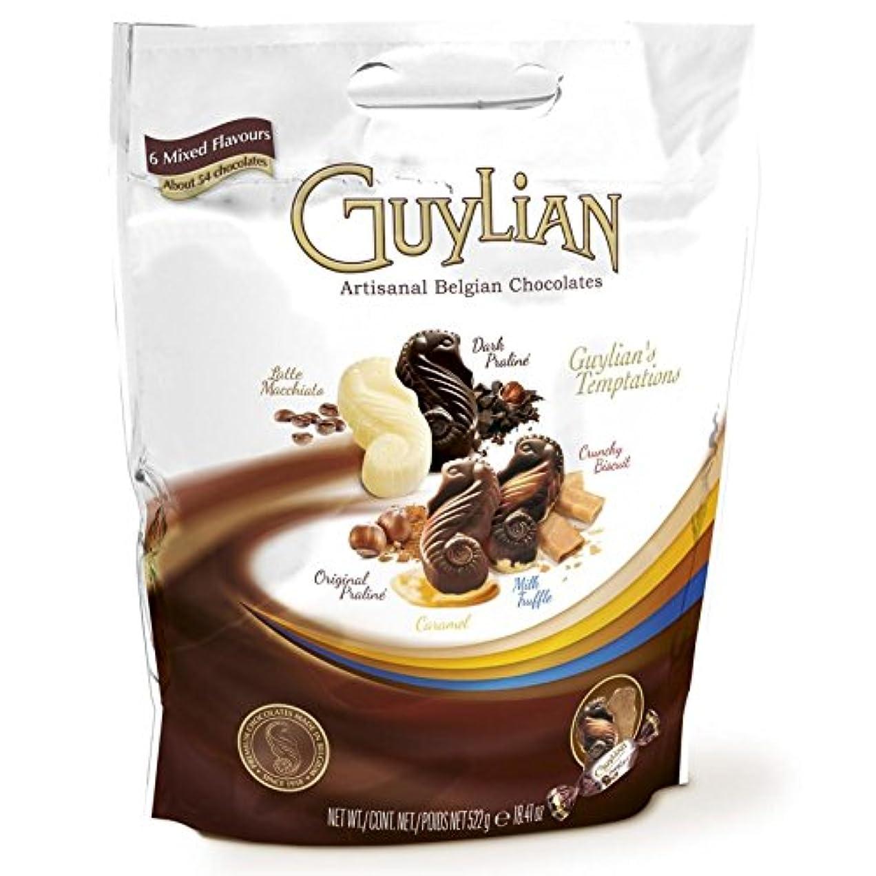四回アドバイスページェントGUYLIAN ギリアン テンプテーション チョコレートアソート 522g(6種類/約54個入り) ベルジャンチョコレート