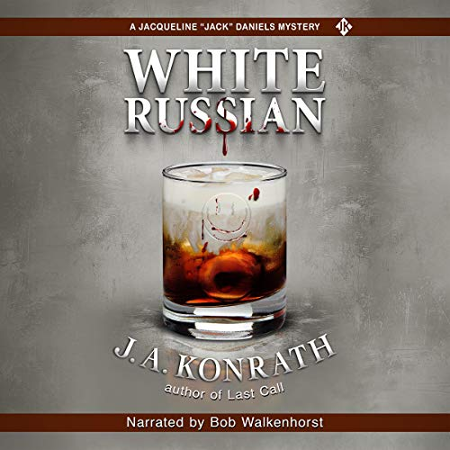 White Russian audiobook cover art
