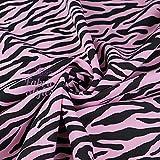 FS967 schwarz & weiß Zebra | Animal-Print Schneiderstoff |
