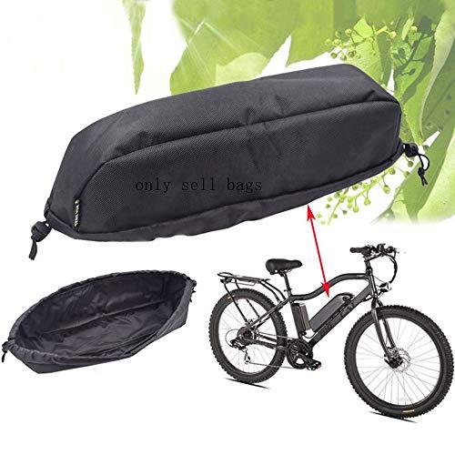 Cubierta de batería Ebike Impermeable, a Prueba de Polvo, Bolsa de Cuadro de Bicicleta Resistente al Desgaste, Bolsa de batería para Bicicleta eléctrica (36 * 12 * 9CM)
