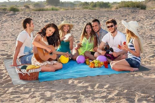 Sandless Beach Mat, Sand Resistant …