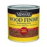 Minwax 221504444 Wood Finish Penetrating Interior Wood Stain, 1/2 pint, Red Oak