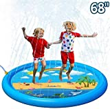 MZY FamilyPool InflatablePool Children s Toys Paddling Pool with Ocean Ball and Inflatable Pump for Outdoor Garden Summer Family Fun 102 x 25cm