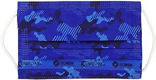 Biomsk Kids Camuflaje Azul con nanomolécula reutilizable