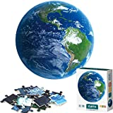 Arrbo 1000 Piece Puzzles for Adults, Earth Puzzles with Poster, Grown up Puzzles Educational Games Toys Gift for Adults, Families and Kids Ages 8 and up, 27' w x 20' h