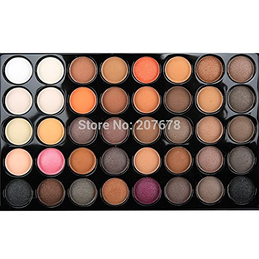 高潔な評価可能摩擦40 Color Matte Eyeshadow Pallete Make Up Palette Eye Shadow Glitter Natural Easy to Wear Waterproof Lasting Makeup Pallete
