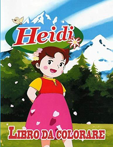 Heidi libro da colorare