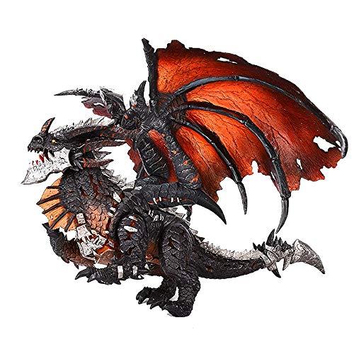 Action Figure World of Warcraft Neltharion Kataklysmus Beleuchtung Modell animierte Charakter Modell Dekoration Statue 17 * 31 * 39cm