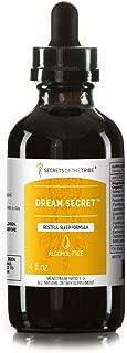 Secrets Of The Tribe - Dream Secret, Restful Sleep Formula, Herbal Supplement Blend Drops Alcohol-Free Liquid Extract (4 fl oz)