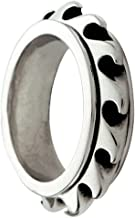 Bico Wave Spinner Spinning Ring (R1) Street Jewelry