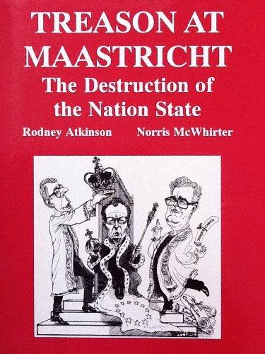 Treason at Maastricht (English Edition)