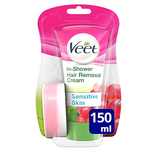 Veet Natural Inspirations in-Shower Hair Removal Cream, 150 ml, 3007731