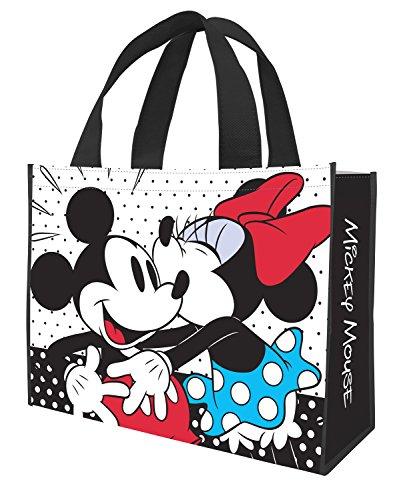 Vandor Einkaufstasche, recycelt, groß Disney Minnie & Mickey 16 x 6 x 12