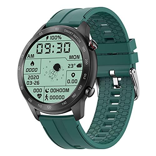 ZGNB MX5 Smart Watch, Chiamata Bluetooth, Riproduzione Musicale MTE, IP68 Impermeabile, Monitor per La Pressione Sanguigna, Fai da Te Smartwatch PK TK88 per Android iOS,Y