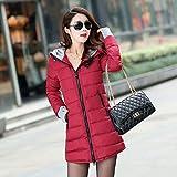 HSXQQL Chaqueta de Plumas Long Down Jacket Women Ultra Light Down Coat Winter...