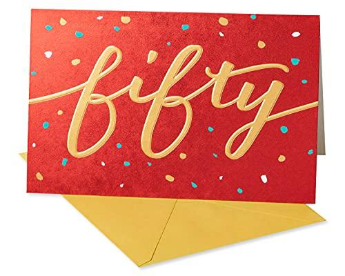 American Greetings 50th Birthday Card (Be Bold)