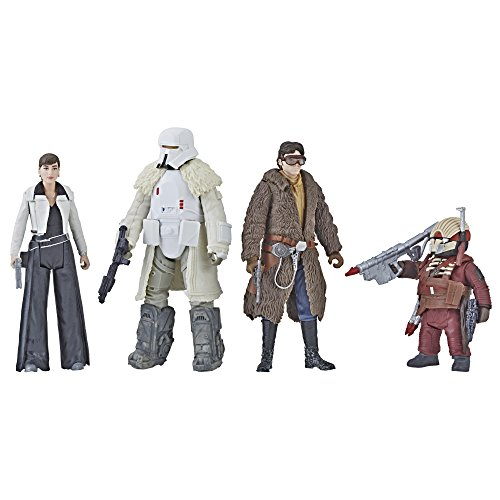 STAR WARS - Force Link 2.0 Mission on 'vandor-1 3.75 Figure Set Hasbro e1093 - 4 Figures
