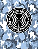HAM Radio Log Book for Serious Operators: Military Snow Camouflage Logbook Notebook for Amateur Radio Enthusiasts - 4165 Unique Entries - Large Format (Military Snow Camouflage HAM Radio Series)
