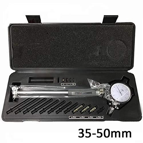 Micrómetro Digital Diámetro de línea indicador de Nivel de precisión Diámetro del Motor Cilindro de medición de Prueba de medidor Kit de Herramientas (Color : Negro, tamaño : Un tamaño)
