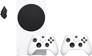 Microsoft Xbox Series S 512GB Game All-Digital Console + Xbox Wireless Controller Bundle, 1440p Gaming Resolution, 4K Stre...