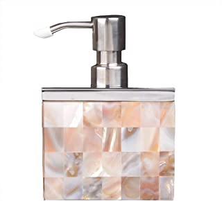 Thsinde Ceramic Soap Dispenser for Bathroom Kitchen Countertop, Lotion & Liquid Dispenser Soap Bottle